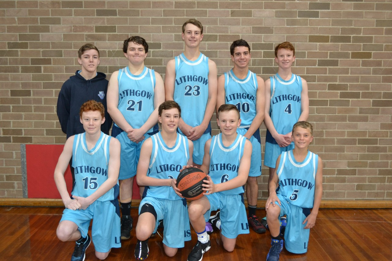 Good luck to our Under 15's Boys Basketball Team - Lithgow